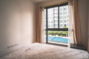 For RentCondoRatchadapisek, Huaikwang, Suttisan : [A398] 1 Bed cheapest in the building ** Special price 12,500 baht 🔥🔥🔥 Condo for rent, Quinn Ratchada 17 / QUINN RATCHADA 17, size 36 sq.m., 7th floor, Building A, pool view, near MRT. Sutthisan only 250 meters.